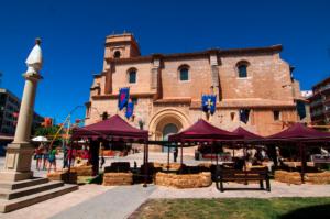 Mercado medieval Albacete en primavera