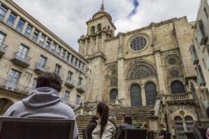 03.Catedral de san Martiño, praza de San Martiño